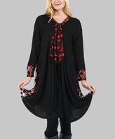 Aster Black & Red Dot Duster