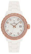 Toy Watch Toywatch Ladies Two Tone and Crystal Watch