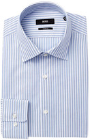 HUGO BOSS Marley Striped Sharp Fit Dress Shirt