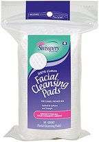 Swisspers multi care facial cleansing pads - 50 ea