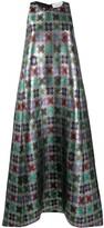 Thumbnail for your product : La DoubleJ Juno geometric-print dress
