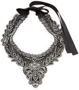 Amrita Singh Women's Athena Lace Bib Necklace