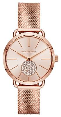 Michael Kors Women's Portia Mesh Bracelet Watch
