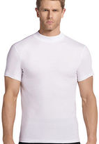 Jockey Mens Mock Neck T-Shirt 2 Pack T-Shirts Shirts 100% cotton