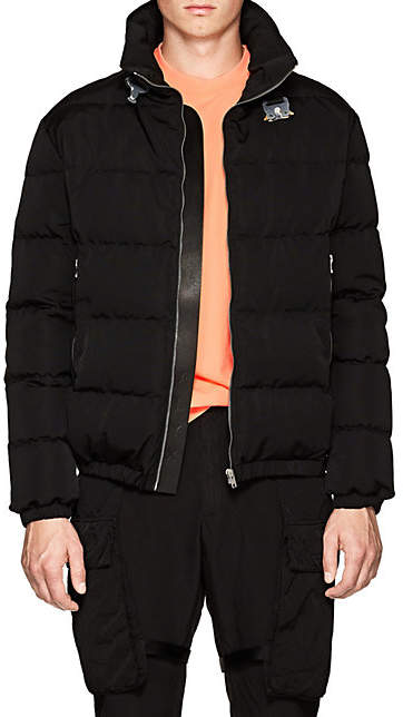 ALYX Men's Down-Quilted Moto Puffer Jacket - Black