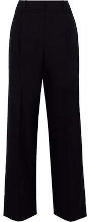 Alexander Wang Wool-Jacquard Wide-Leg Pants