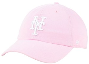 '47 New York Mets Pink Clean Up Cap