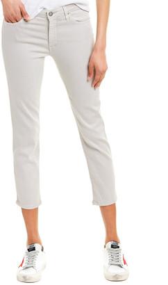 AG Jeans The Prima Sulfur Grey Cigarette Crop