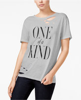 Rachel Roy Ripped Graphic T-Shirt, Only at Macy's