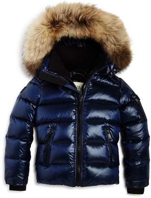 SAM. Unisex Arctic Fur-Trimmed Down Jacket - Big Kid