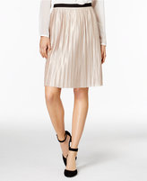 Tommy Hilfiger Pleated Shimmer Skirt