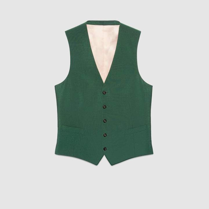 Gucci Wool mohair formal vest