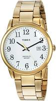 Timex Men's TW2R23600 Easy Reader Stainless Steel Bracelet Watch