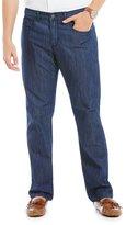 Perry Ellis Slim-Straight Coolmax Jeans
