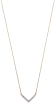 Adina Tiny Pave V Necklace