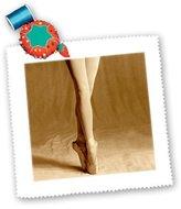 3dRose LLC qs_1272_1 Dance - Ballerina - Quilt Squares