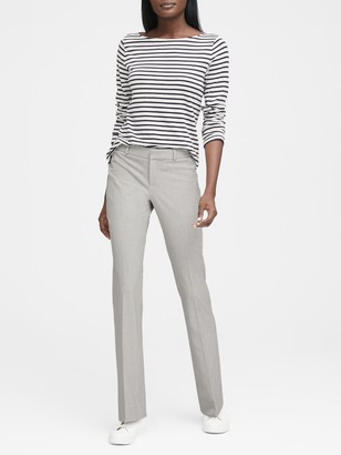Banana Republic Logan Trouser-Fit Birdseye Pant
