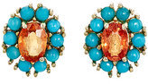 Ileana Makri Women's Dream Flower Studs-GOLD