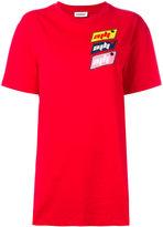 Au Jour Le Jour oversized logo patch T-shirt