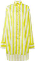 Marques Almeida Marques'almeida - oversized shirt dress - women - Cotton - S