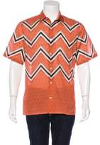 Louis Vuitton Zig Zag Print Shirt w/ Tags