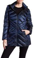 BCBGeneration Missy Mid Zip Front Padded Jacket