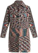Missoni Spread-collar cashmere cardigan