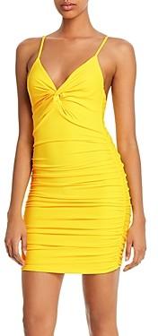 Tiger Mist Gabby Twist-Front Mini Dress
