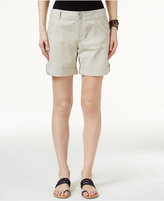 INC International Concepts Cuffed Cargo Shorts, Created for Macy's