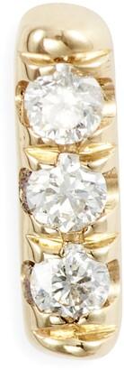 Jennie Kwon Designs Diamond Equilibrium Stud Earrings