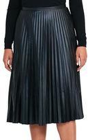Lauren Ralph Lauren Plus Accordion Pleat Skirt