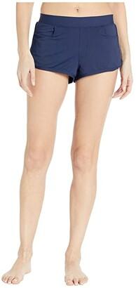 Carve Designs Lorenzo Swim Shorts (Black) Women's Swimwear