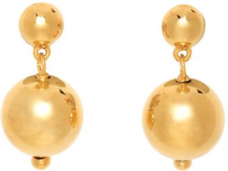 Sophie Buhai Gold Ball Drop Earrings