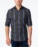 Alfani Men's Stripe Long-Sleeve Shirt, Classic Fit