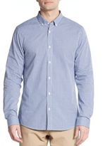 Michael Kors Cotton Gingham Sport Shirt