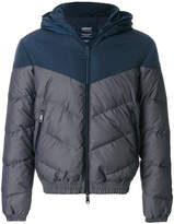 Armani Jeans two-tone padded jacket