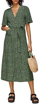 Whistles Spotted Animal Anita Dress