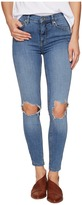 Free People High-Rise Busted Skinny in Light Denim Women's Jeans
