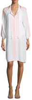 Melissa Odabash Sophia 3/4 Sleeve Dress