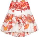 Roberto Cavalli Layered Mini Skirt