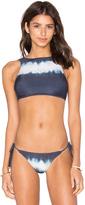 Lenny Niemeyer Halter Crop Bikini Top