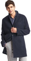 Gap Wool blend crombie coat