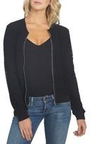 1 STATE Women's Mesh Bomber Jacket