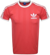 adidas California T Shirt Pink