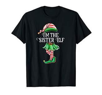 I'm the Sister Elf Matching Family Pajamas Christmas Gift T-Shirt