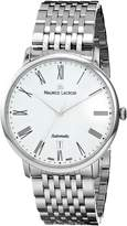 """Maurice Lacroix Men's LC6067-SS002-110 """"Les Classiques"""" Stainless Steel Automatic Watch"""