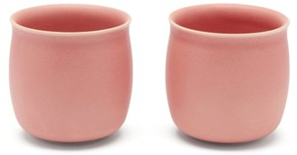 Raawii - Set Of Two Alev Medium Ceramic Cups - Light Pink