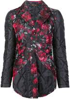 Comme des Garcons floral quilted jacket