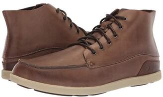 OluKai Nalukai Boot (Husk/Silt) Men's Lace-up Boots