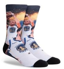 Lids Parkway Men's Golden State Warriors Voltage Crew Socks
